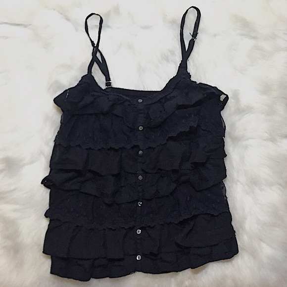 Abercrombie & Fitch Tops - [abercrombie & fitch] navy blue top